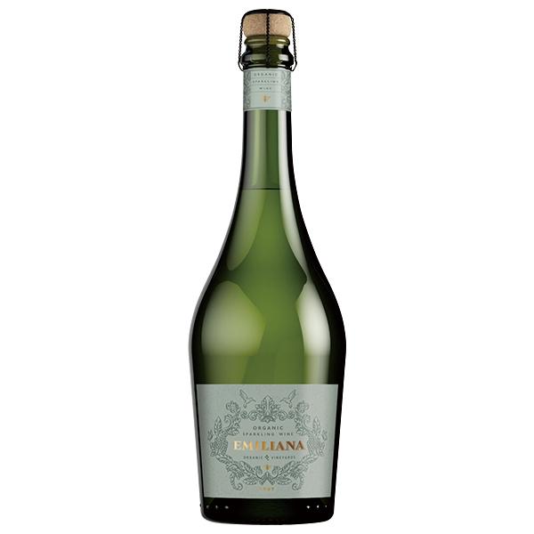オーガニック スパークリング ワイン ブリュット エミリアーナ