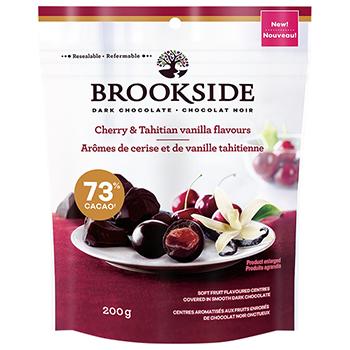 【FOOD de WINE】ブルックサイド ダークチョコレート チェリー&タヒチアンバニラ 200g / 鈴商(BROOKSIDE) 0ml