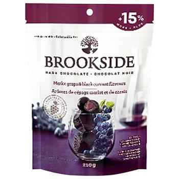 【FOOD de WINE】ブルックサイド ダークチョコレート メルローグレープ&ブラックカラント 210g / 鈴商(BROOKSIDE) 0ml