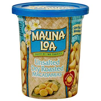 【FOOD de WINE】マウナロア マカデミアナッツ 無塩 113g / ハワイアンホースト(Hawiian Host Mauna Loa) 0ml