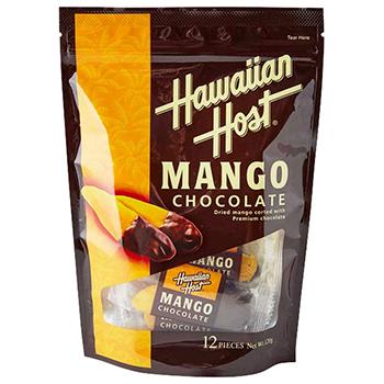 【FOOD de WINE】ハワイアンホースト ドライマンゴーチョコレート12P 120g / ハワイアンホースト(Hawiian Host) 0ml