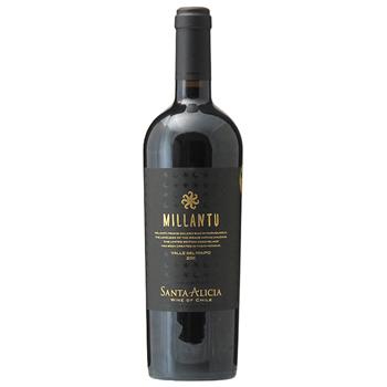 ワイン ミランテュ /サンタ・アリシア(MILLANTU) チリ 赤 フルボディ 750ml