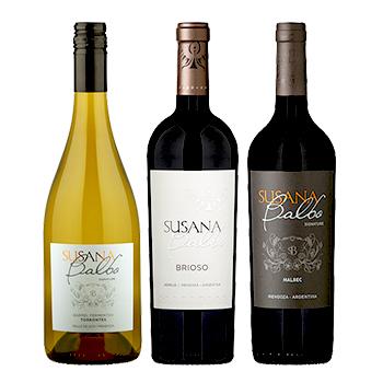 スサーナ・バルボ 3本セット / スサーナ・バルボ(SUSAN BALBO threer bottles set) アルゼンチン 2250ml