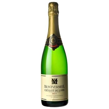 スパークリング ワイン モンヴェルメイユ クレマン・ドゥ・ロワール / モンヴェルメイユ(MONTVERMEIL Cremant de Loire) フランス 白泡 辛口 750ml