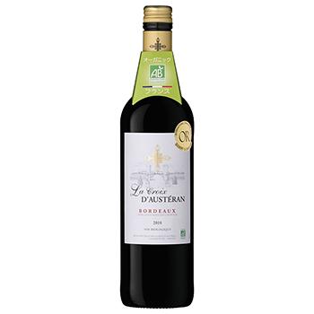 ワイン ラ・クロワ・ドステラン・ビオ / ラ・クロワ・ド・ステラン(LA CROIX D'AUSTERAN BORDEAUX ROUGE BIO) フランス 赤 ミディアムボディ 750ml