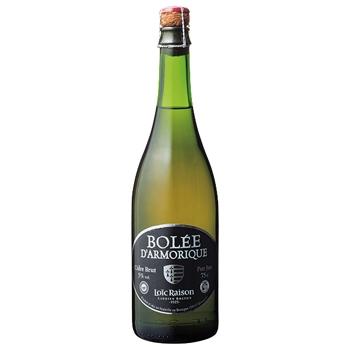 スパークリング ワイン ボレ・ダルモリック ブリュット / シー・エス・アール(Bolee d'Armorique Brut) フランス 白微泡 やや辛口 750ml