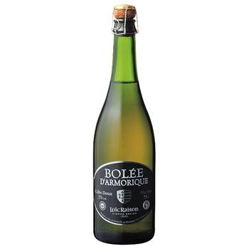 スパークリング ワイン ボレ・ダルモリック ドゥ / シー・エス・アール(Bolee d'Armorique Doux) フランス 白微泡 やや甘口 750ml