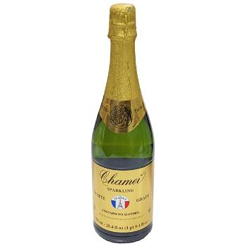 ワイン 【ノンアルコール・軽減税率対応】シャメイ・ノンアルコール・スパークリング・ホワイトグレープ / シャメイ ●(SPARKLING WHITE GRAPE JUICE CONC 750ML) フランス 白泡 やや甘口 750ml