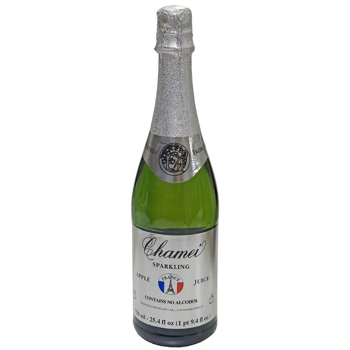 ワイン 【ノンアルコール・軽減税率対応】シャメイ・ノンアルコール・スパークリング・アップル / シャメイ ●(SPARKLING APPLE JUICE NON CONC. 750ML) フランス 白泡 やや甘口 750ml