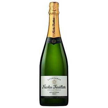 シャンパン スパークリング ワイン ニコラ・フィアット セレクション ブリュット / ニコラ・フィアット(Nicolas Feuillatte Selection ..