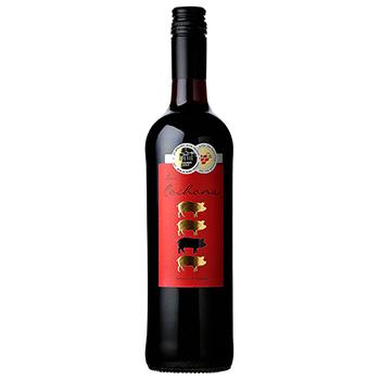 ワイン レ・コション メルロー・カベルネ・ソーヴィニョン / レ・コション(LES COCHONS MERLOT CABERNET SAUVIGNON) フランス 赤 ミディアムボディ 750ml