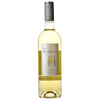 ワイン レ・サーディン シャルドネ・ヴィオニエ / レ・サーディン(LES SARDINES CHARDONNAY VIOGNIER) フランス 白 やや辛口 750ml
