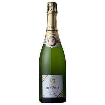 シャンパン スパークリング ワイン ゾエミ・ド・スーザブリュット・メルヴェイユ / ゾエミ・ド・スーザ(Zoemie De Sousa Brut Merveille) フランス 白泡 辛口 750ml