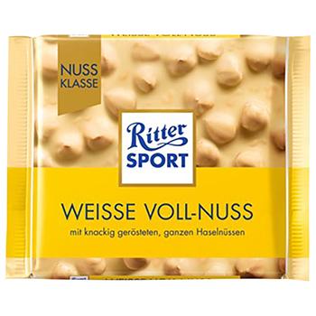 セール 【FOOD de WINE】リッター ナッツホワイト 100g / 三菱食品(Ritter SPORT Nuts & White) 0ml