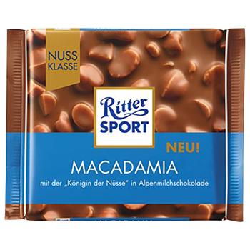 【FOOD de WINE】リッター マカダミア 100g / 三菱食品(Ritter SPORT Macadamia) 0ml