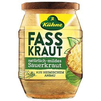 【FOOD de WINE】キューネ ザワークラウト 400g / ウィングエース(Kuhne Sauerkraut) 0ml