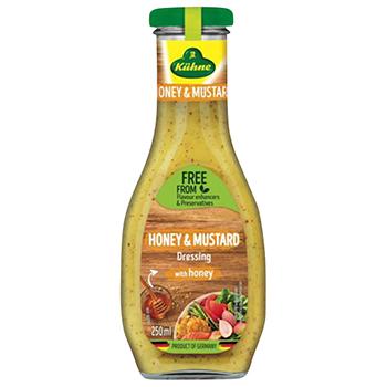【FOOD de WINE】キューネ ハニーマスタードドレッシング 250ml / ウィングエース(Kuhne Honey & Mustard Dressing)