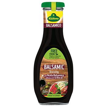 【FOOD de WINE】キューネ バルサミコドレッシング 250ml / ウィングエース(Kuhne balsamic Dressing)