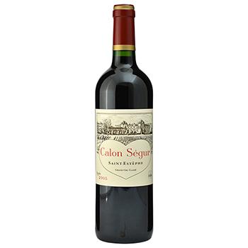 ワイン 2005 シャトー・カロン・セギュール / シャトー・カロン・セギュール ◎(CALON SEGUR 2005 ◎) フランス 赤 フルボディ 750ml
