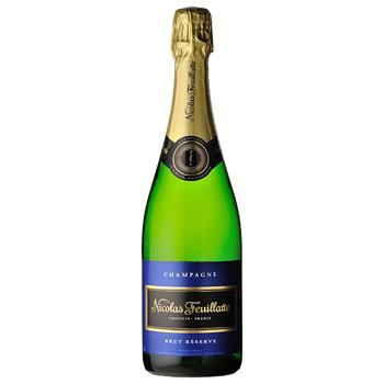 シャンパン スパークリング ワイン ニコラ・フィアット・レゼルヴ・ブリュット・ブルーラベル / ニコラ・フィァット(Nicolas Feuillatt..