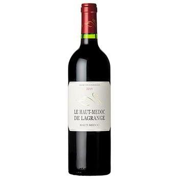 セール ワイン 2015 ル・オー・メドック・ラグランジュ / シャトー・ラグランジュ(LE HAUT MEDOC DE LAGRANGE 2015) フランス 赤 フル..