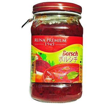 【FOOD de WINE】KMトレーディング ボルシチ 210g / KMトレーディング(RUNA Borsch) 0ml
