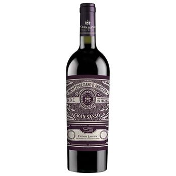 ワイン モンテプルチアーノ・ダブルッツォ / グラン・サッソ(Montepulciano d'Abruzzo) イタリア 赤 ミディアムボディ 750ml