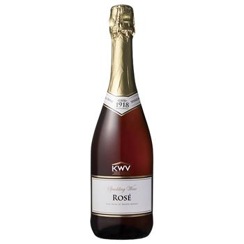 ワイン KWV スパークリング ロゼ / KWV(KWV Sparkling Rose) 南アフリカ ロゼ泡 辛口 750ml