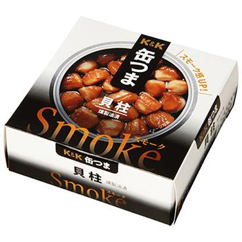 【FOOD de WINE】缶つま SMOKE 貝柱 50g / 国分(KANN TSUMA SMOKE) 0ml