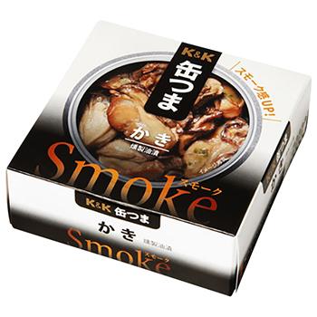 【FOOD de WINE】缶つま SMOKE かき 50g / 国分(KANN TSUMA SMOKE) 0ml