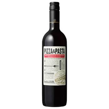 ワイン PIZZA &PASTA モンテプルチアーノ・ダブルッツォ / パスクア(PIZZA &PASTA MONTEPULCIANO D'ABRUZZO) イタリア 赤 ミディアムボディ 750ml