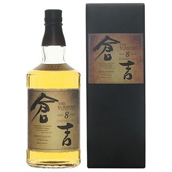 倉吉 シェリーカスク 8年 マツイピュアモルトウイスキー / 松井酒造 ◎(Matsui Pure Malt Whisky Kurayoshi Sherry cask) 700ml