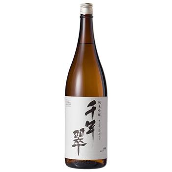 【1800ml】【箱付】千年翠 純米吟醸(せんねんのみどり)(ASAHI-SHUZO SAKE BREWING)