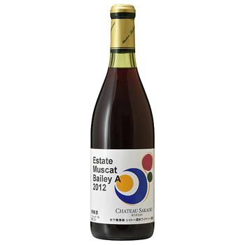 ワイン 2012 エステート マスカットベリーA / シャトー酒折ワイナリー(Estate Muscat Bailey A 2012) 日本 赤 ミディアムボディ 720ml