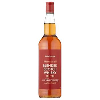 【700ml】WR ブレンドスコッチウィスキー 3年 / ウエイトローズ(WAITROSE Blended Scotch Whisky)