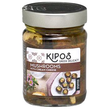 【FOOD de WINE】キポス グリルドマッシュルーム 230g / 鈴商(KIPOS MASHROOMS) 0ml