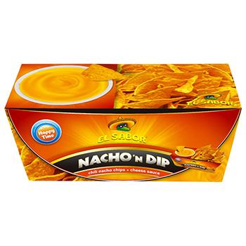 【FOOD de WINE】エルサボール ナチョディップ チーズ 175g / ウイングエース(EL SABOR Nacho'n Dip) 0ml
