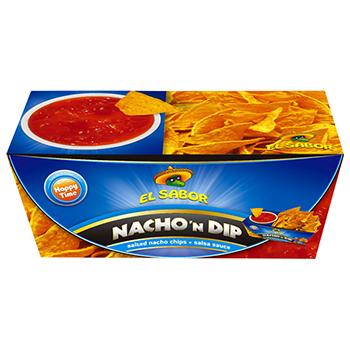 【FOOD de WINE】エルサボール ナチョディップ サルサ 175g / ウイングエース(EL SABOR Nacho'n Dip) 0ml
