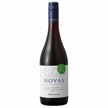 ワイン ノヴァス・ピノ・ノワール /エミリアーナ・ヴィンヤーズ(EMILIANA VINEYARDS NOVAS PINOT NOIR CASABLANCA VALLEY) チリ 赤 ミディアムボディ 750ml
