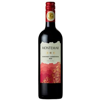 ワイン モンテマール カベルネ・カルメネール / アレスティ(MONTEMAR CABERNET-CARMENERE) チリ 赤 ライトボディ 750ml