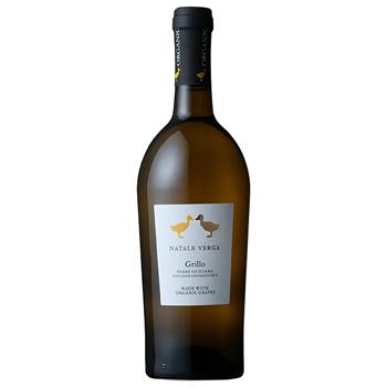 ワイン ナターレ・ヴェルガ オーガニック グリッロ / ナターレ・ヴェルガ(Natale Verga Organic Grillo) イタリア 白 辛口 750ml