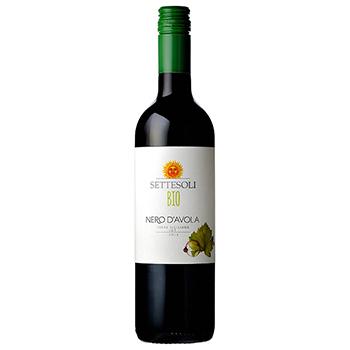 ワイン セッテソリ ネロ ダヴォラ ビオ / セッテソリ(SETTESOLI NERO D'AVOLA BIO) イタリア 赤 フルボディ 750ml