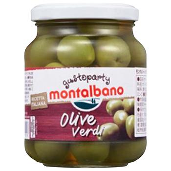 【FOOD de WINE】モンタルバーノ トスカーナ オリーブ種有 310g / 讃陽食品工業(MONTALBANO TUSCANY OLIVE) 0ml