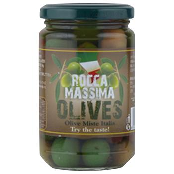 【FOOD de WINE】ラ・ロッカ ミックスオリーブ 300g / アイランドフーズ(LA ROCCA MASSIMA OLIVES) 0ml