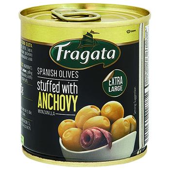 【FOOD de WINE】フラガタ アンチョビ入りオリーブ 85g / 豊産業(Fragata ANCHOVY OLIVE) 0ml