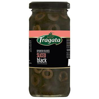 【FOOD de WINE】フラガタ ブラックスライスオリーブ 120g / 豊産業(Fragata Sliced Black) 0ml