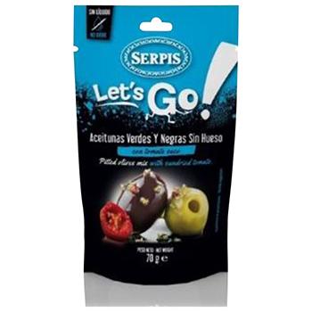 【FOOD de WINE】Serpis オリーブの実 ドライトマト 70g / 加藤産業(SERPIS DRYTOMATO) 0ml