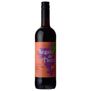 ワイン 大地の贈り物レッド 甘口 / コルドンヴェール(Regalo de la Terra RED SWEET) スペイン 赤 750ml