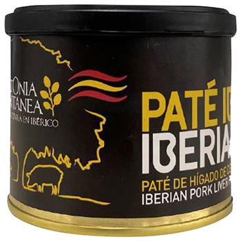 【FOOD de WINE】ヴェットニアモン イベリコ豚レバーパテ缶 200g / 富士貿易(VETTONIA MONTANEA IBERIAN PORK PATE) 0ml