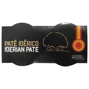 【FOOD de WINE】ヴェットニアモン イベリコ豚レバーパテ缶 156g / 富士貿易(VETTONIA MONTANEA IBERIAN PORK PATE) 0ml
